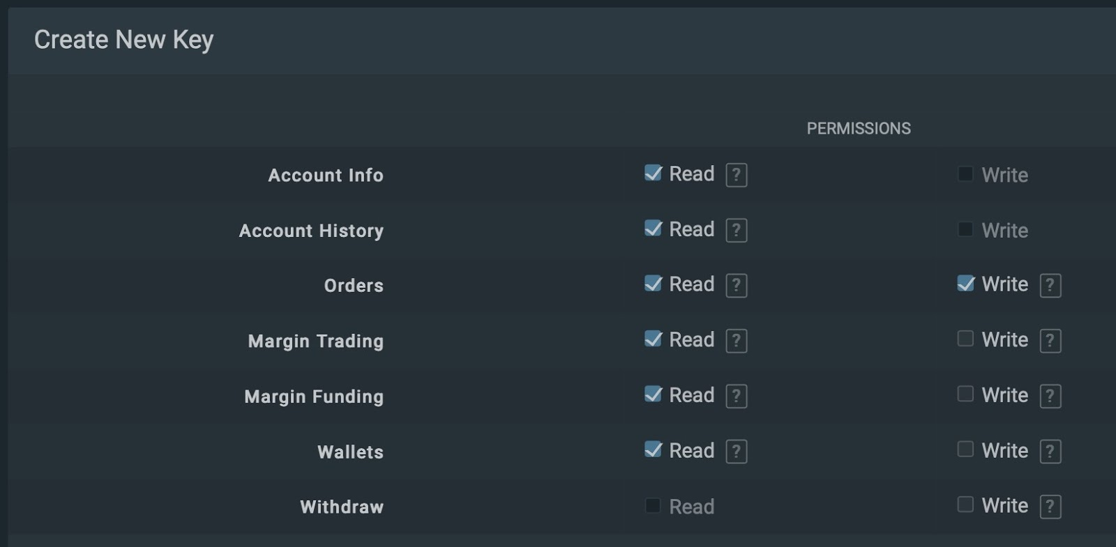 Bitfinex 1 - Setting Up API Keys for Trading Bot on Bitfinex