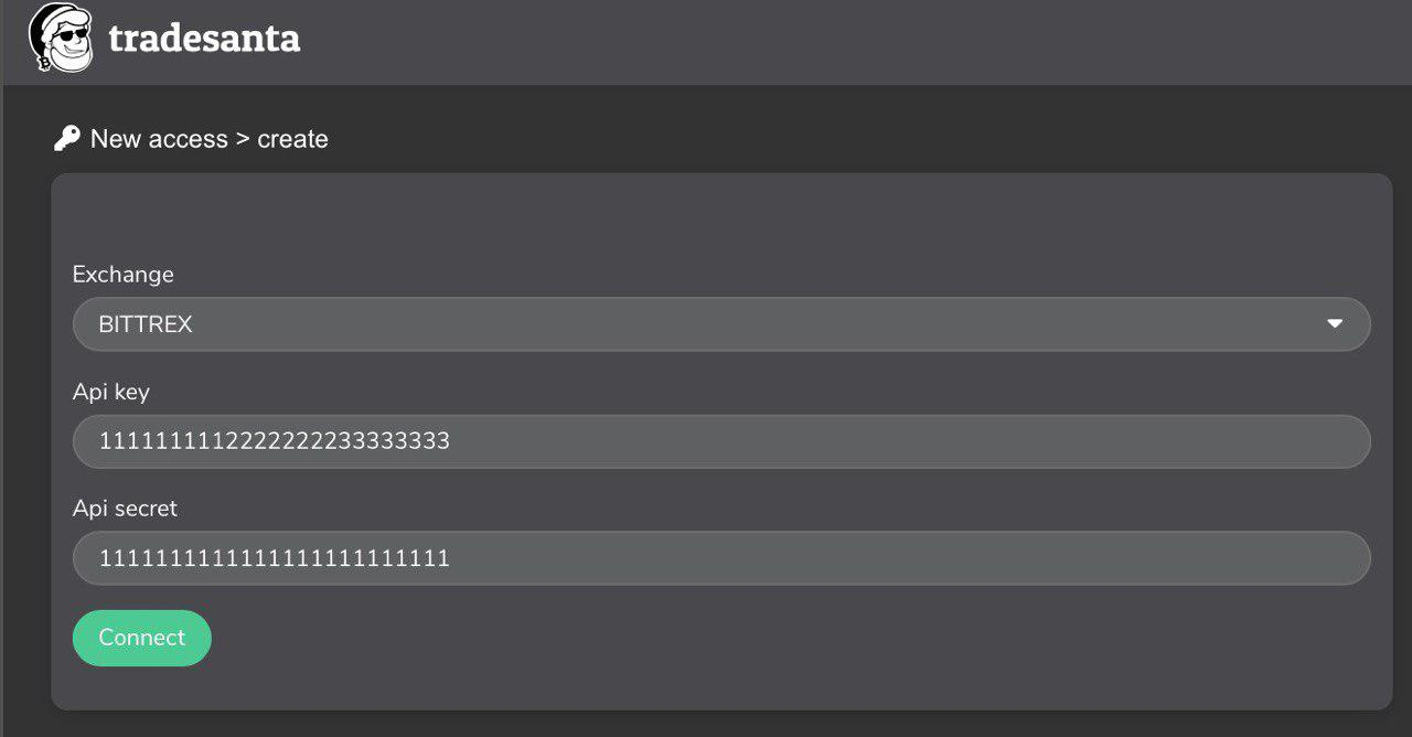 bittrex - Setting Up API Keys for Trading Bot on Bittrex