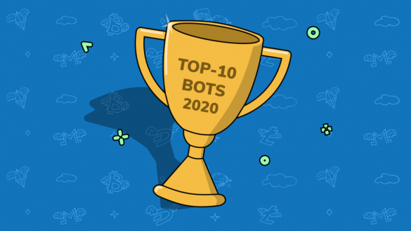 top trading bots 585x330 - Best crypto trading bots 2020