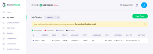 Bitcoin simulator: crypto trading on Niffler platform