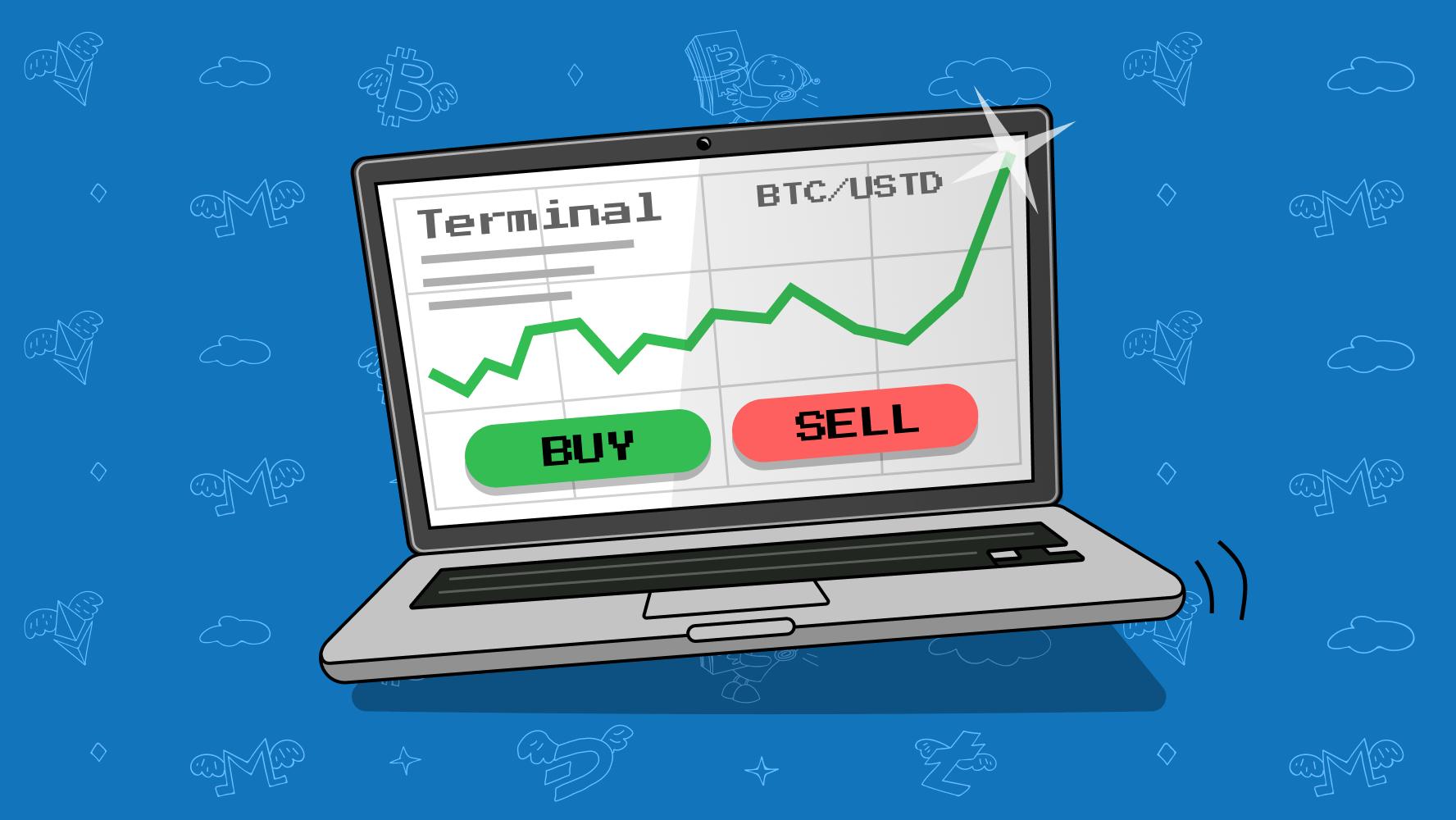 bitcoin trading terminal